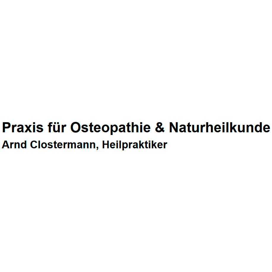 Bild zu Osteopathie & Naturheilkunde Arnd Clostermann in Nürnberg
