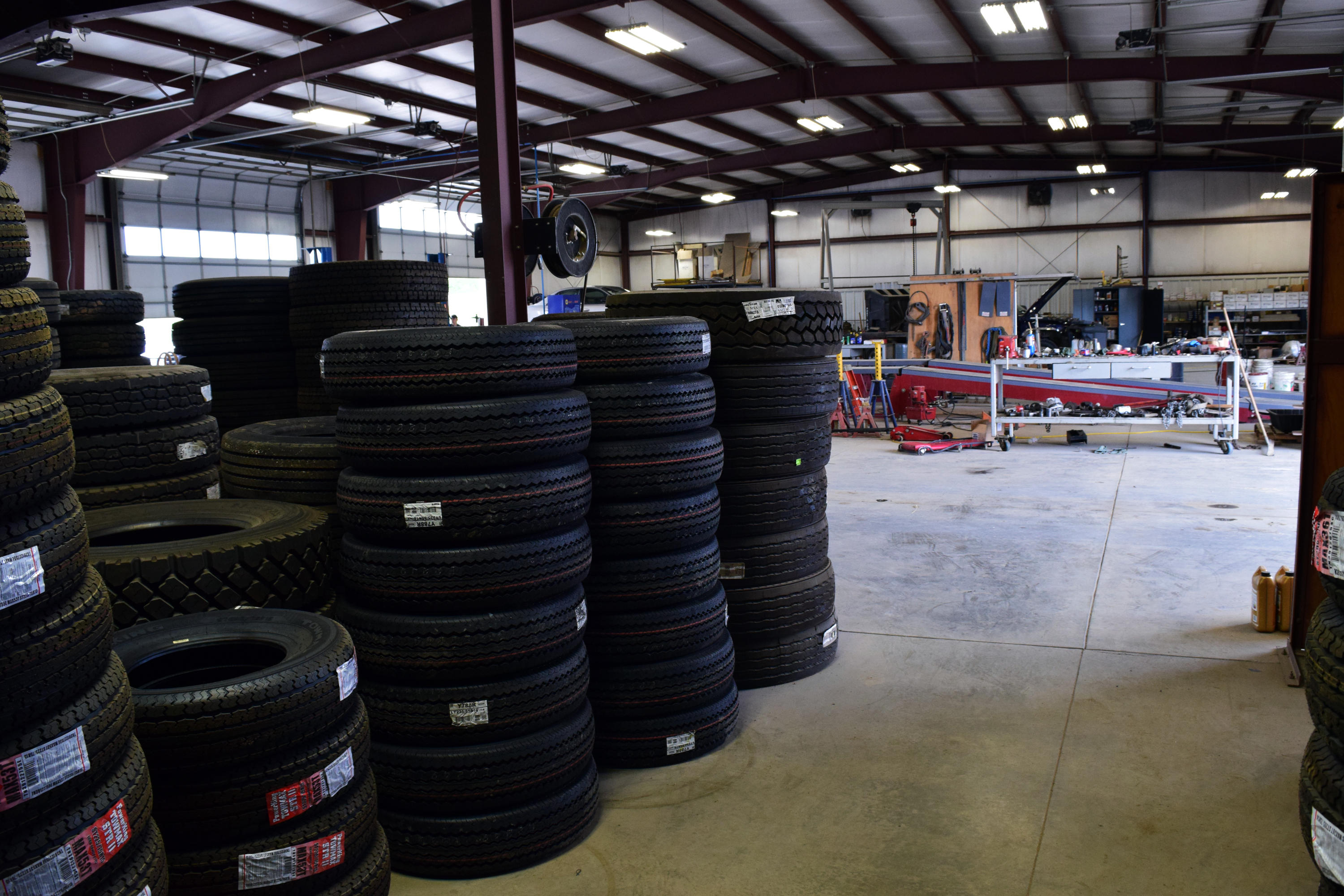 I went to a Firestone service center on in Jackson, MI for a oil change and a set of 4 new tires. When the car was in the bay, the Manager named KIM, came out and asked me if I knew where.