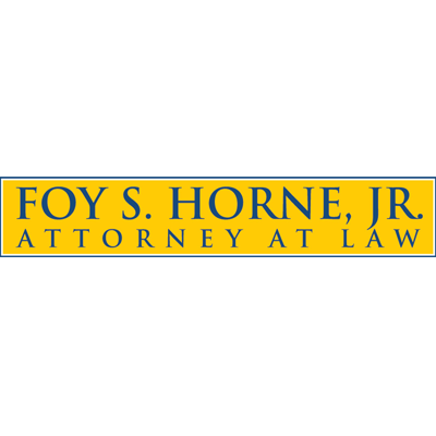 Foy S Horne Jr Attorney At Law