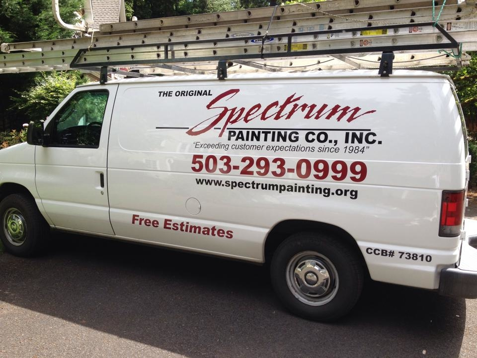 the original spectrum painting company in oregon city or