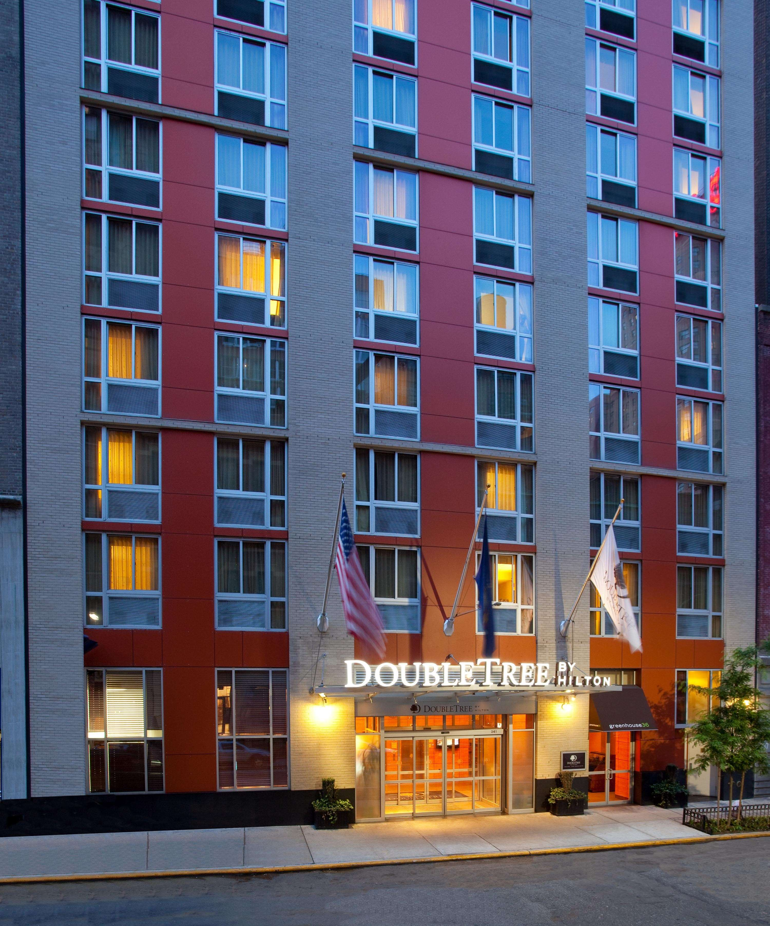 A Doubletree By Hilton Hotel In