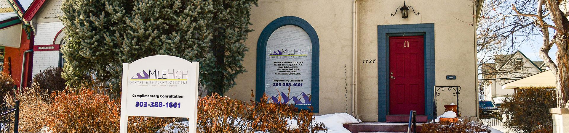 Outside Denver Location of Mile High Dental & Implant Centers