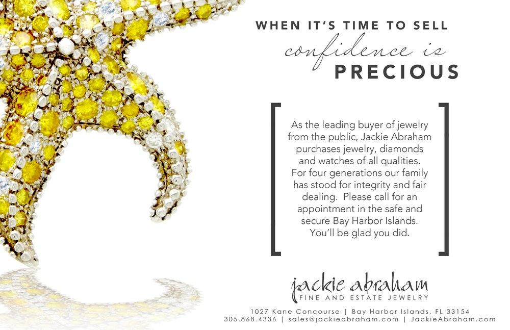 Jackie Abraham Jewelers Bay Harbor Islands Florida Fl