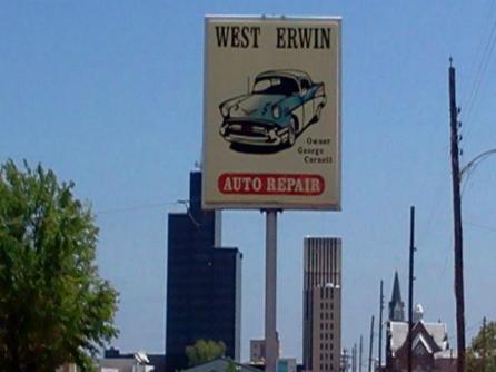 West Erwin Auto Repair Tyler Texas Tx