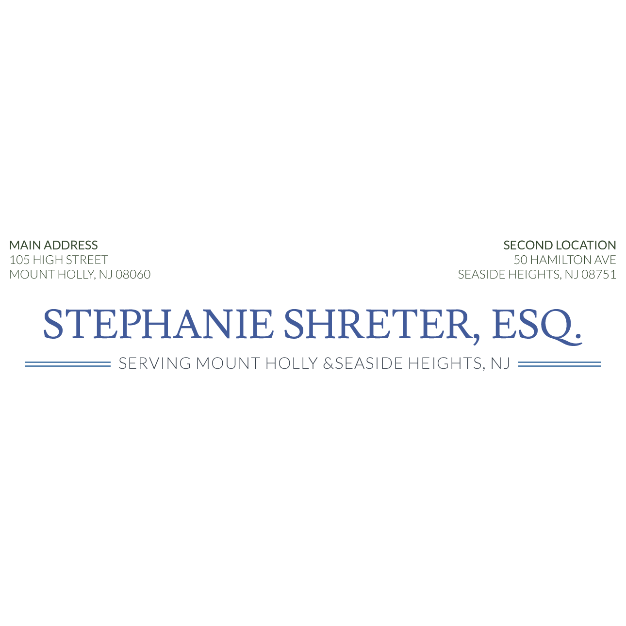 Stephanie Shreter, Esq