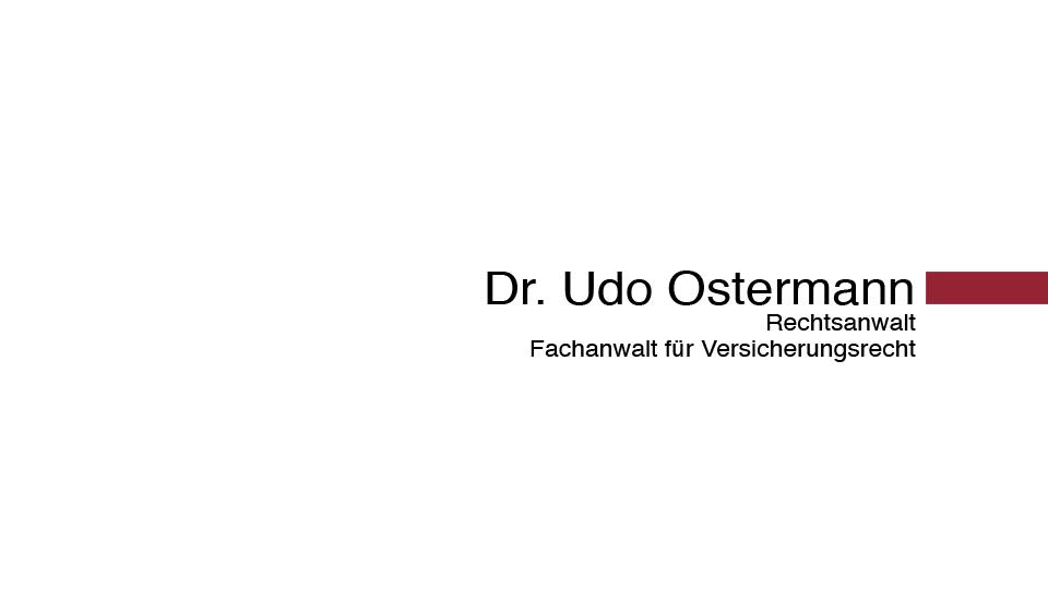 Rechtsanwaltskanzlei Dr. Udo Ostermann