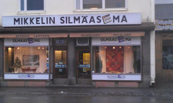 Mikkelin Silmäasema Optikko Raimo Laitinen Oy