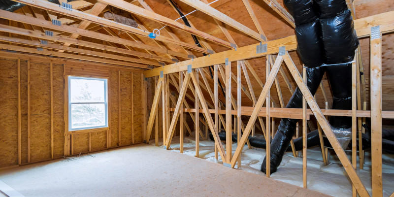 SPRAY FOAM INSULATION CAN REDUCE DUST AND POLLEN FOR SUPERIOR INDOOR AIR QUALITY.