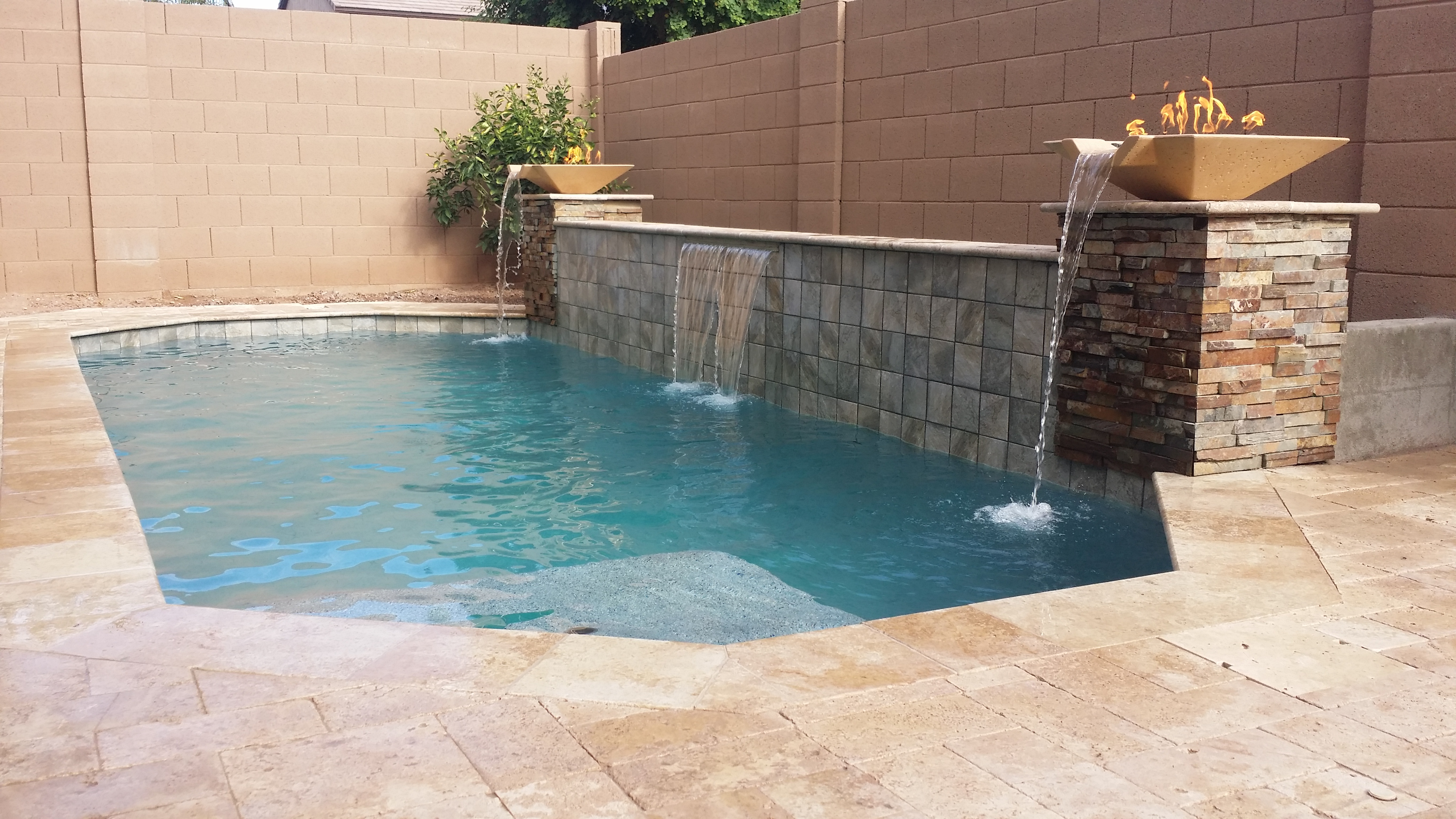 Above and beyond pool remodeling gilbert arizona for Pool remodeling