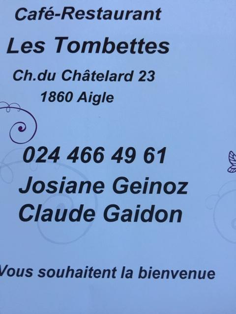 Café-Restaurant les Tombettes