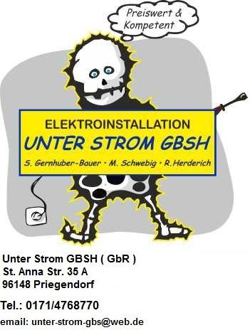 Elektroinstallation - Unter Strom GBSH