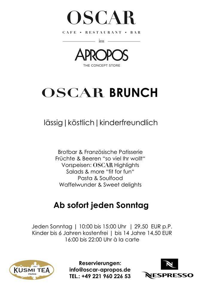 Oscar Köln 50667