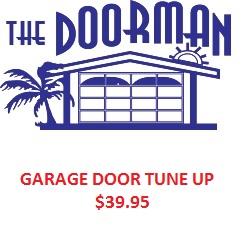 Garage Door Tune Up