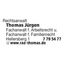 Jürgen Thomas Rechtsanwalt