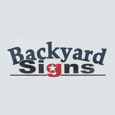 Backyard Signs