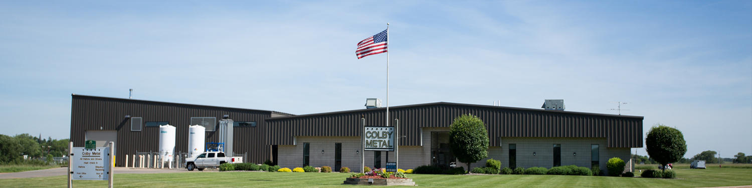 Our Plant Colby Metal Inc. Colby (715)223-2334