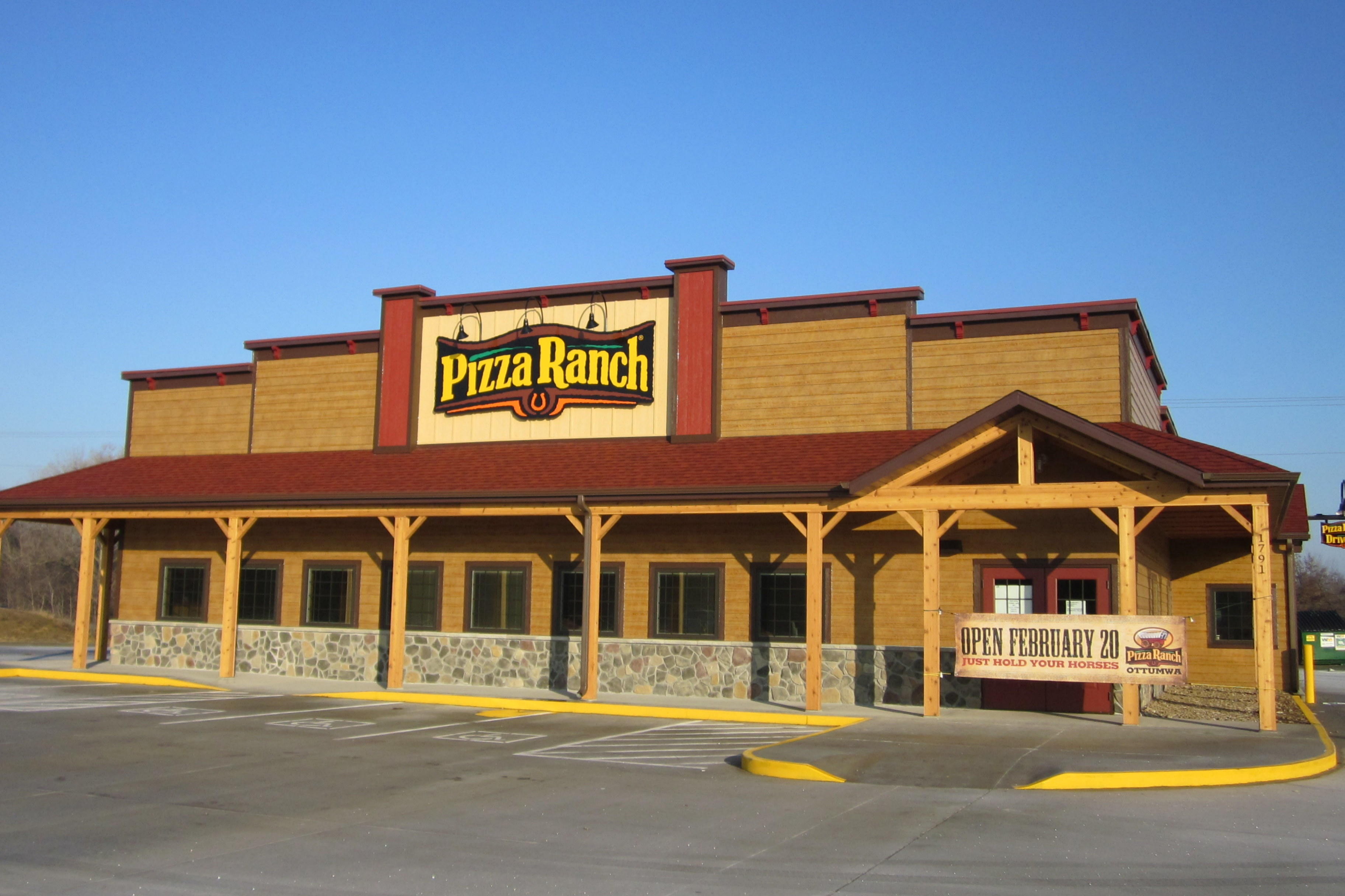 From humble beginnings in a small Iowa town to plus restaurant locations across the Midwest, Pizza Ranch has grown with loyal customers and hard-working franchise owners. Striving to uphold the company's Mission and Vision, each Pizza Ranch location is a part of our lore and can trace its roots back to the very beginning of the story.