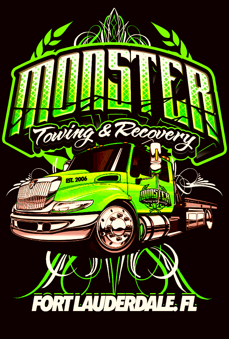 Monster Towing Amp Recovery Davie Florida Fl