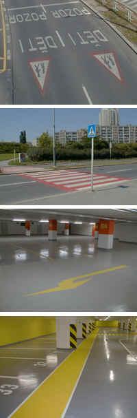 DOZNA s.r.o. - dopravní značení