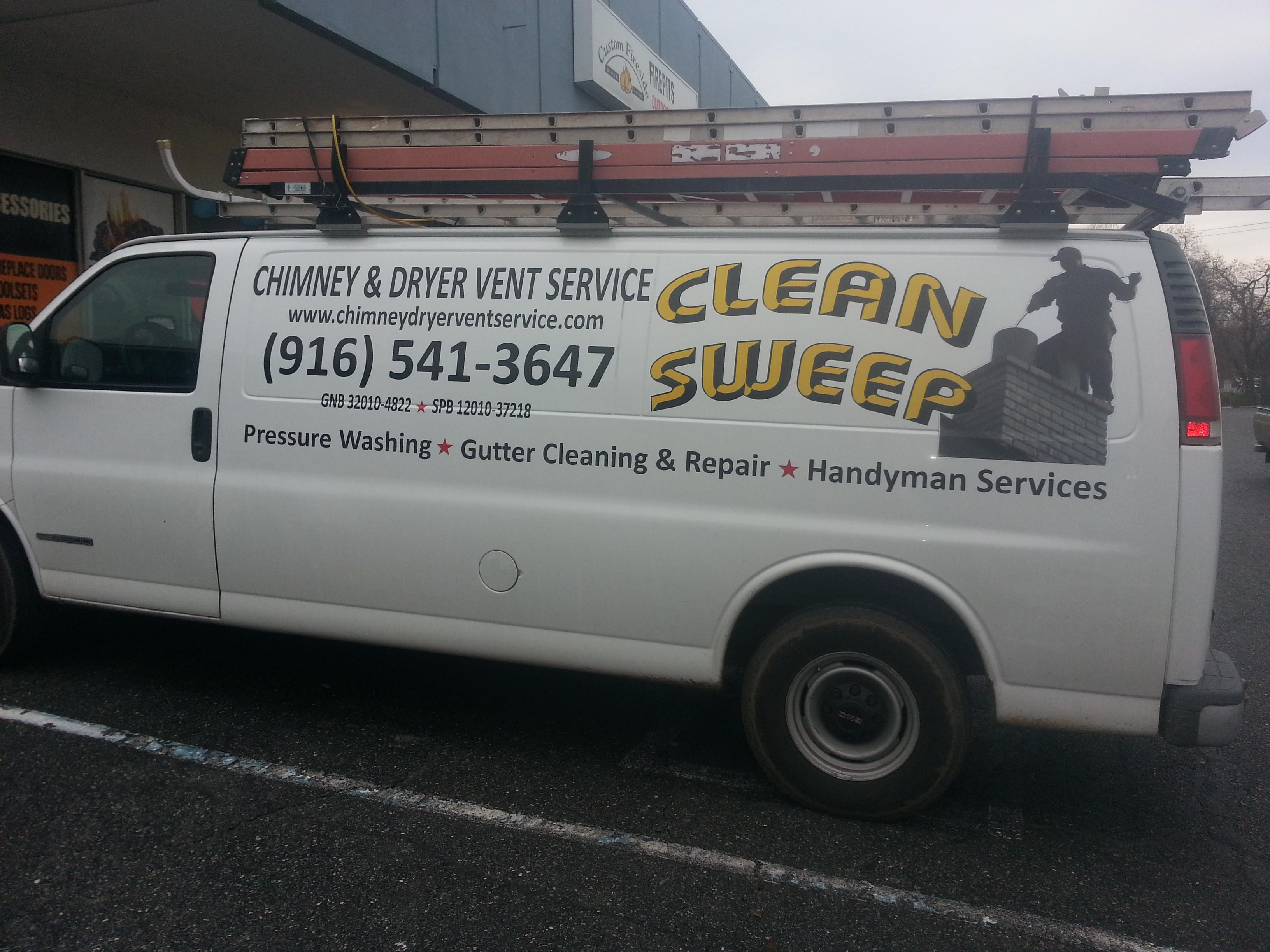 Clean Sweep Chimney Amp Dryer Vent Service