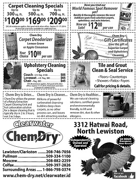 Chem-Dry of Moscow, Pullman & Colfax