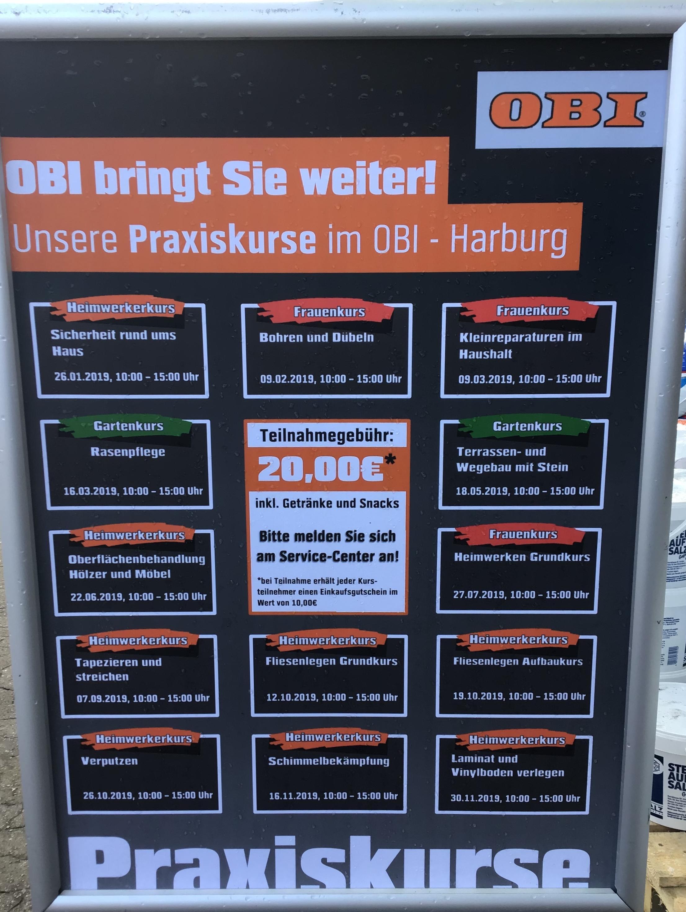 OBI Markt Hamburg-Harburg