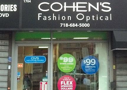 Cohen S Fashion Optical New York Ny