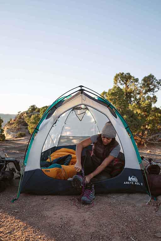 Women's Essential Backpacking Skills