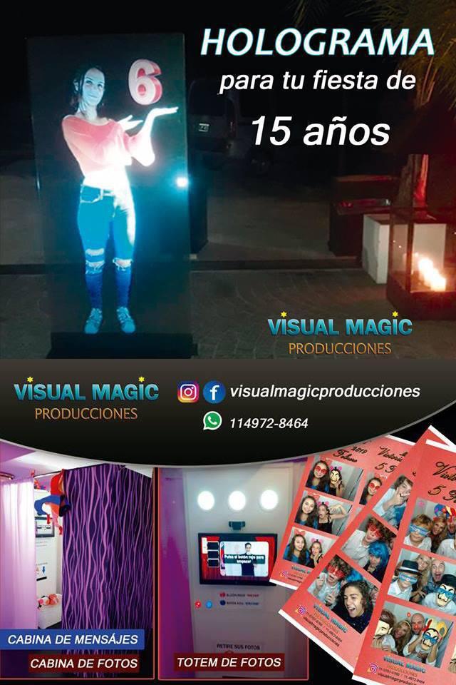 VISUAL MAGIC PRODUCCIONES - CABINAS FOTOGRAFICAS Y HOLOGRAMAS