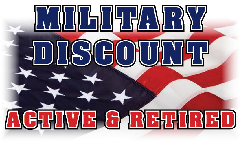 Military $ discounts
