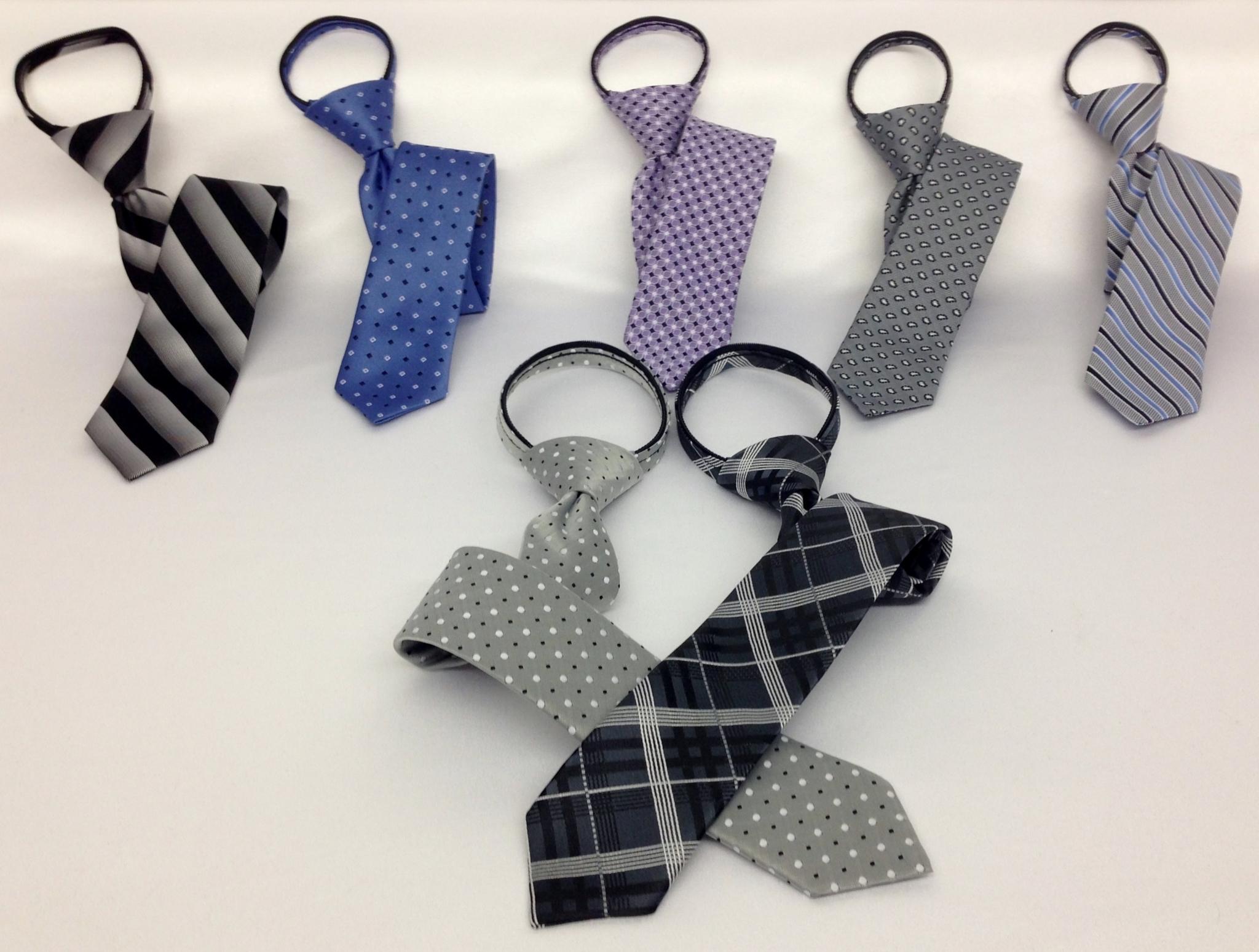 Carizma Distribution Inc à Montréal: Zipper Ties for Men and Boys