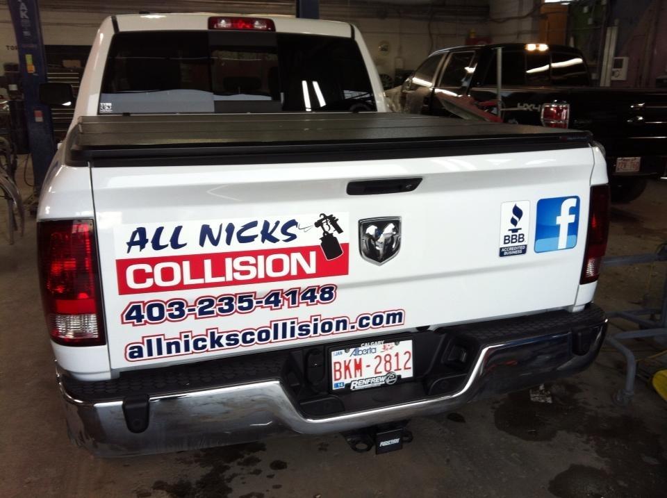 All Nicks Collision Ltd