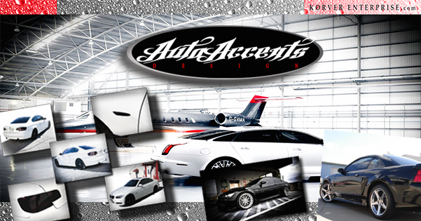 Auto Accents Car Window Tinting Web Design Sign