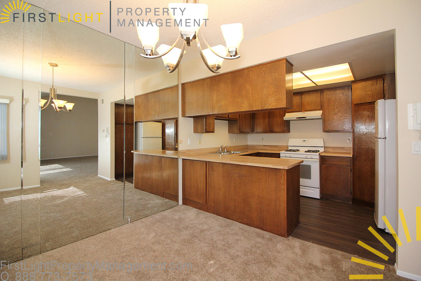Superior Condo Under Management By First Light Property Management In Lomita, Ca