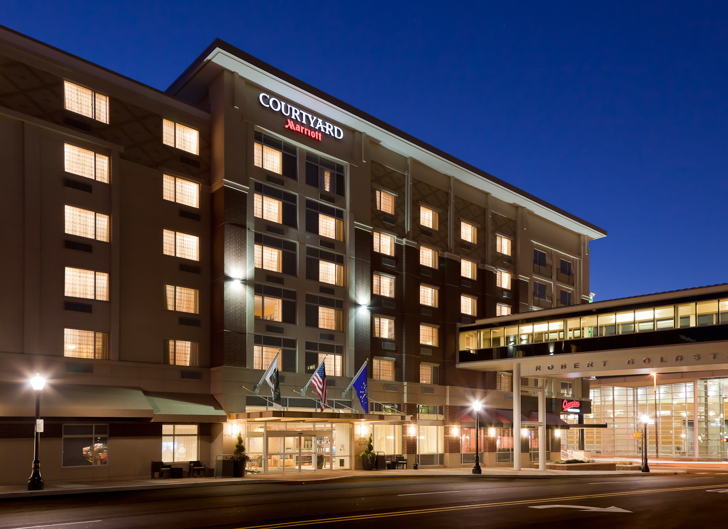 Courtyard By Marriott Fort Wayne Downtown At Grand Wayne Convention Center In Fort Wayne In
