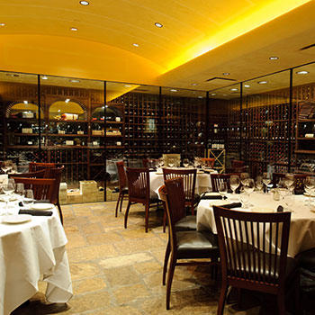 Del Frisco's Double Eagle Steak House Charlotte Cellar One private dining room