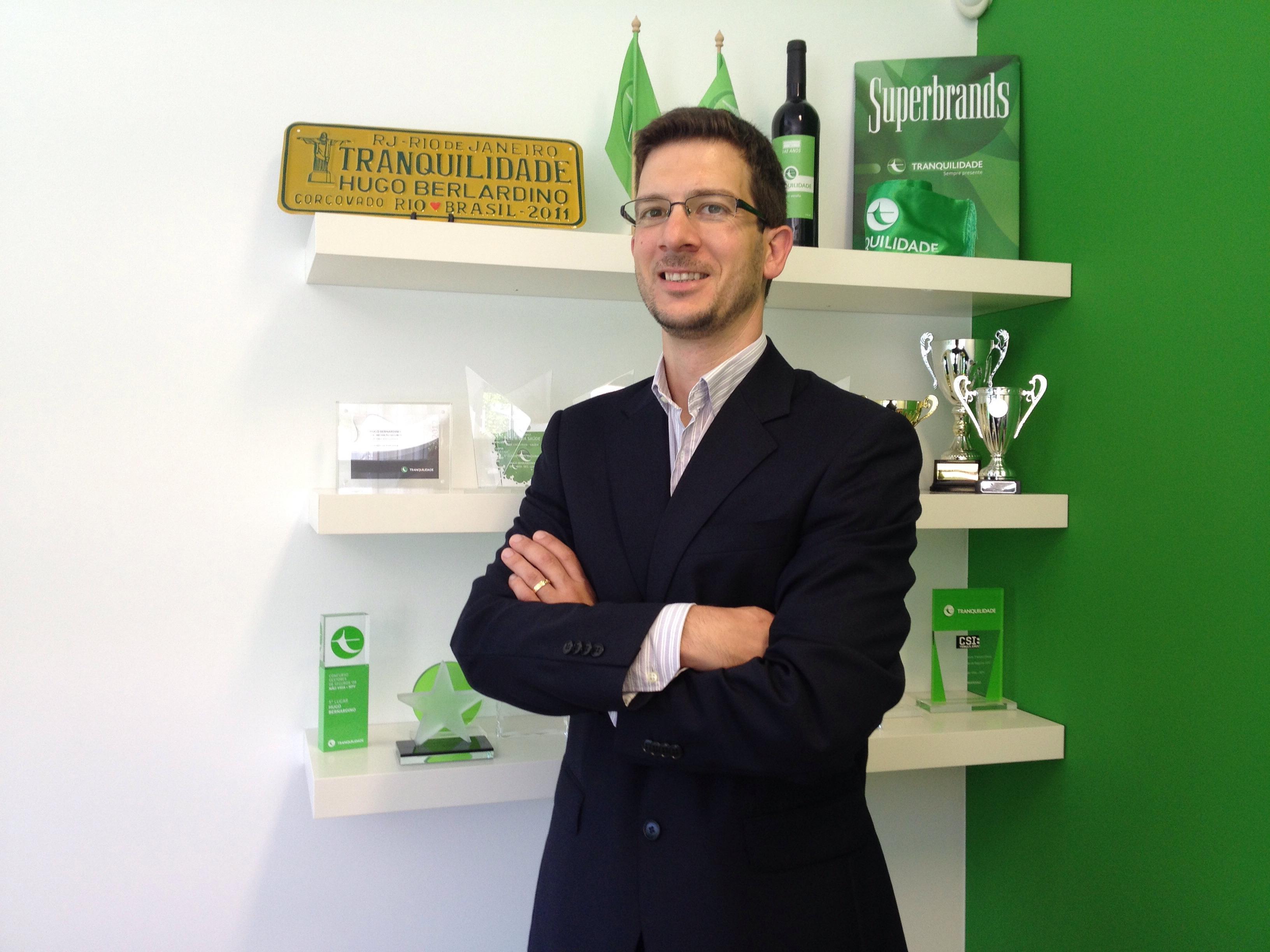 TRANQUILIDADE: Agente Hugo Bernardino Sociedade Mediação Seguros Unipessoal Lda.