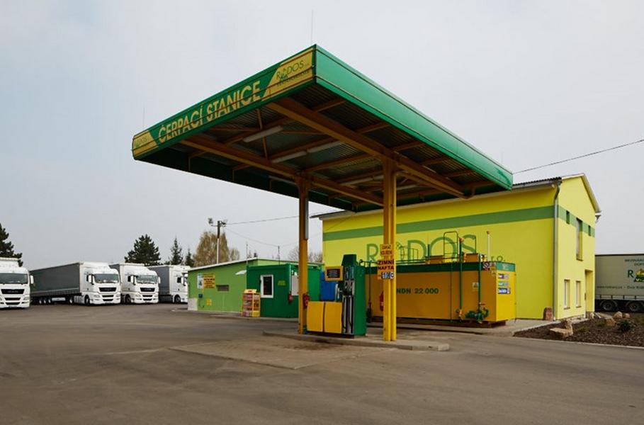 RODOS V+J Teodoridis, s.r.o. prodej pohonných hmot