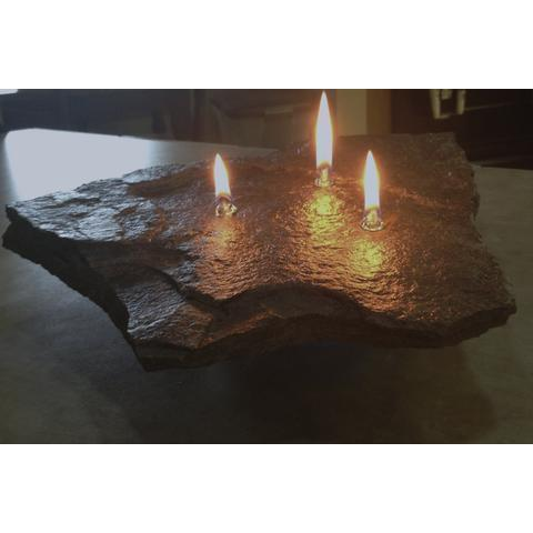 Fire Dance Rock Candles