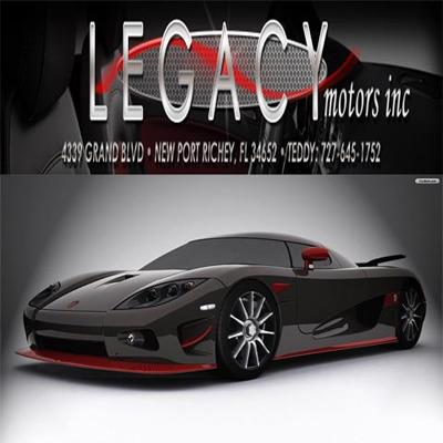 Legacy Motors Inc In New Port Richey Fl 34652