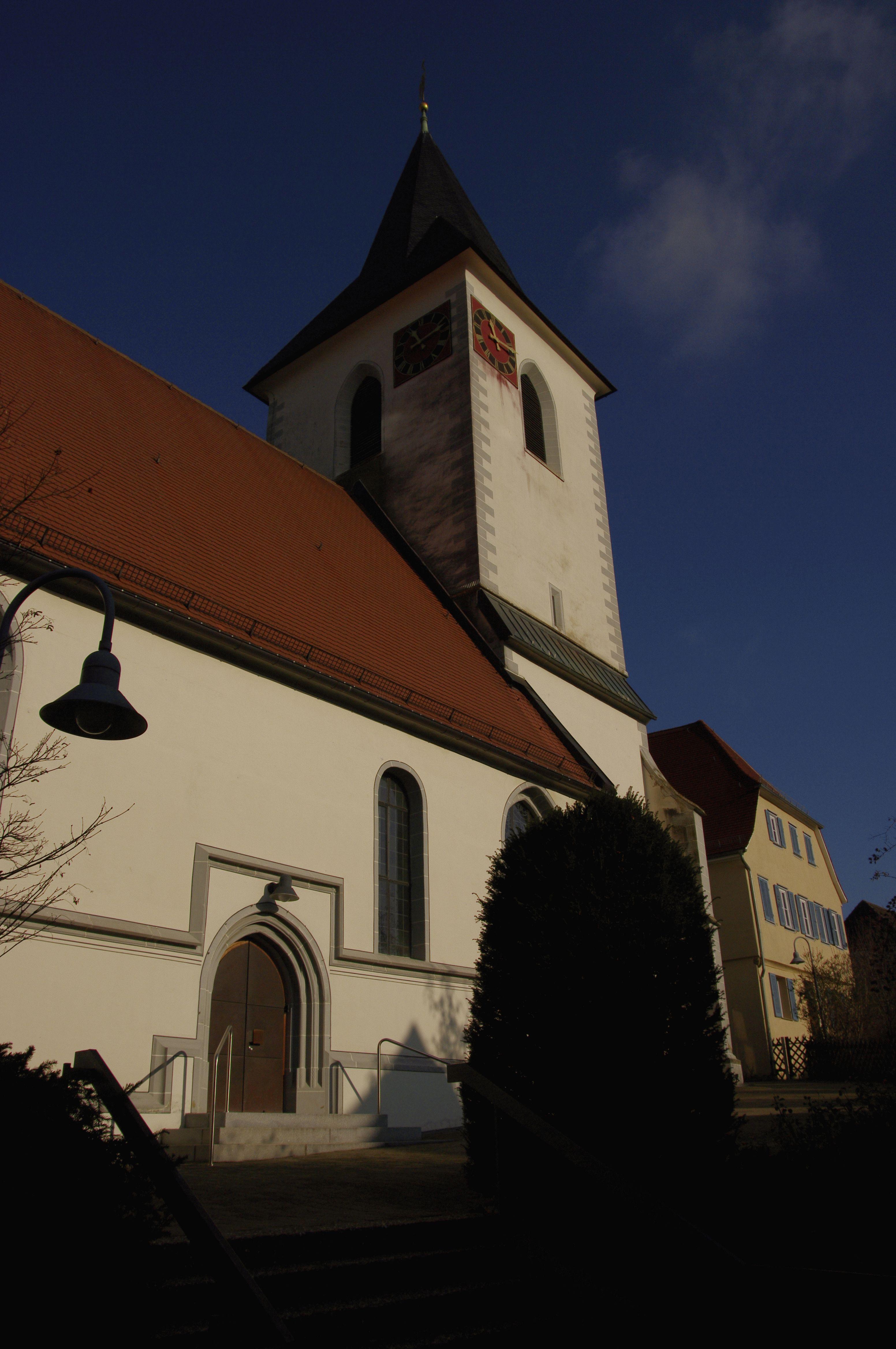 Mauritiuskirche Schwaikheim - Evangelische Kirchengemeinde Schwaikheim