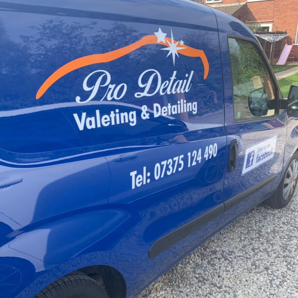Pro Detail Valeting & Detailing Ltd