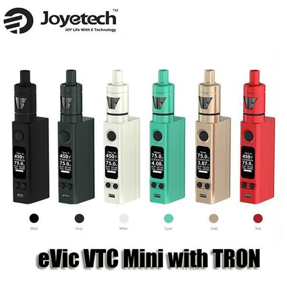 East Coast Distribution - VapeCity in St John's: JoyeTech EVIC Mini with Tron Atomizer 75 watt ecig kit.