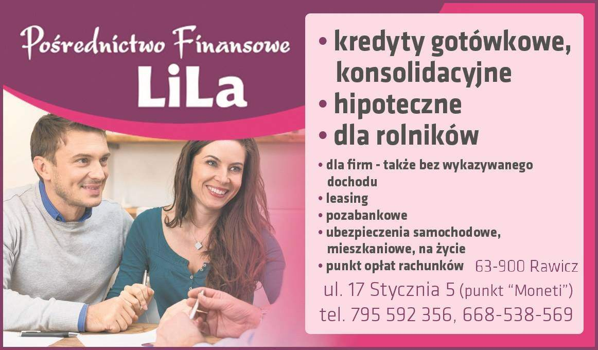 Pośrednictwo Finansowe Lila S.C.