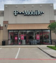 Exterior photo of T-Mobile Store at Cross Timbers & Long Prairie, Flower Mound, TX