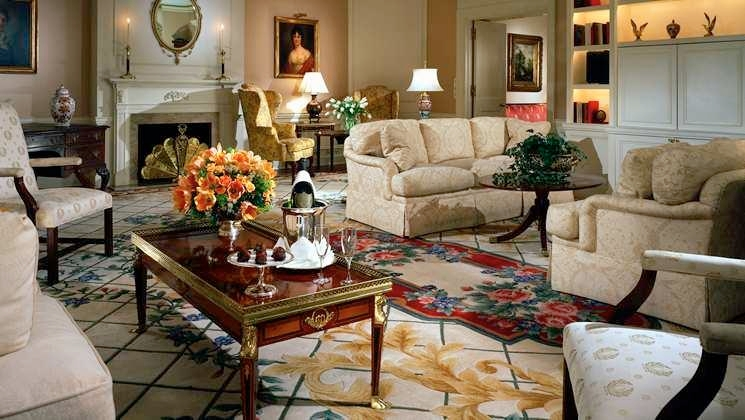 The four-bedroom suite has accommodated U.S. Presidents and the U.S. State Department guest among other visiting dignitaries.