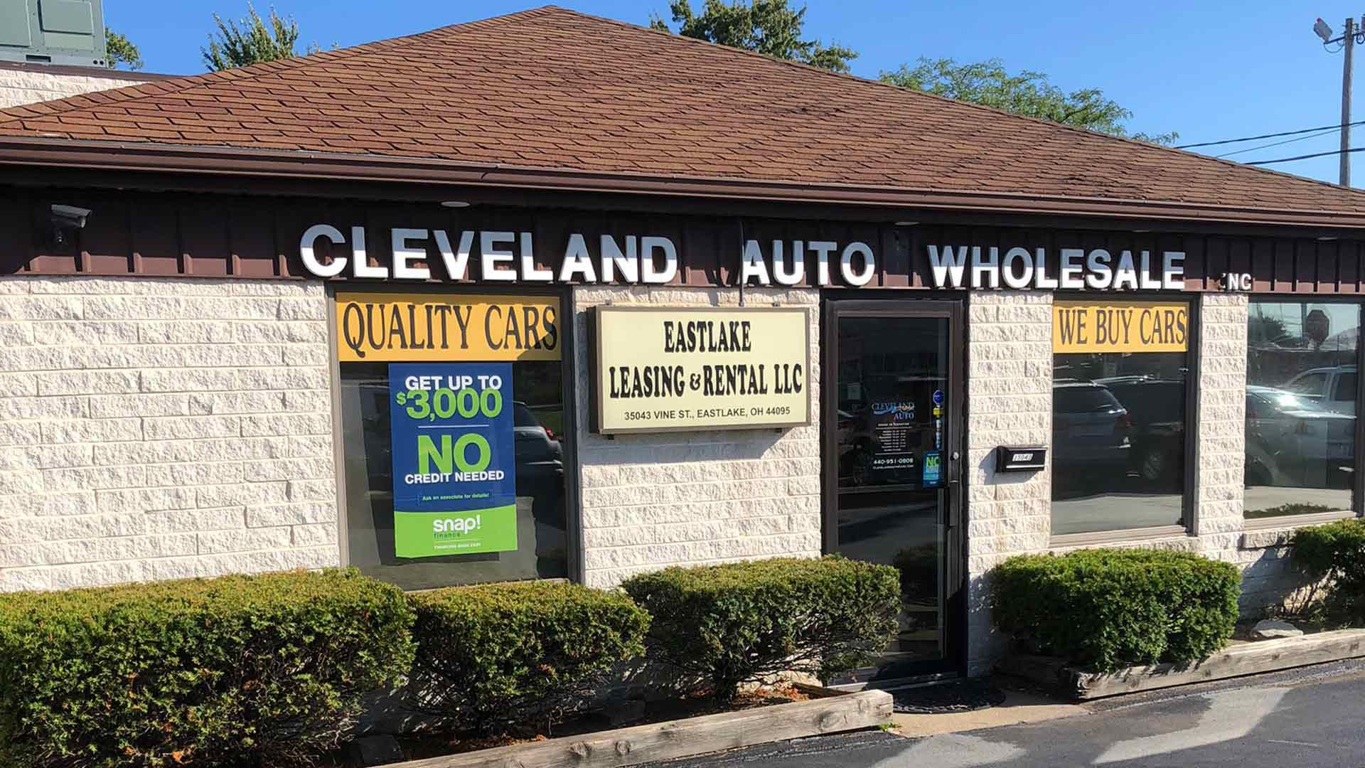 Cleveland Auto Wholesale Willowick (440)951-0808