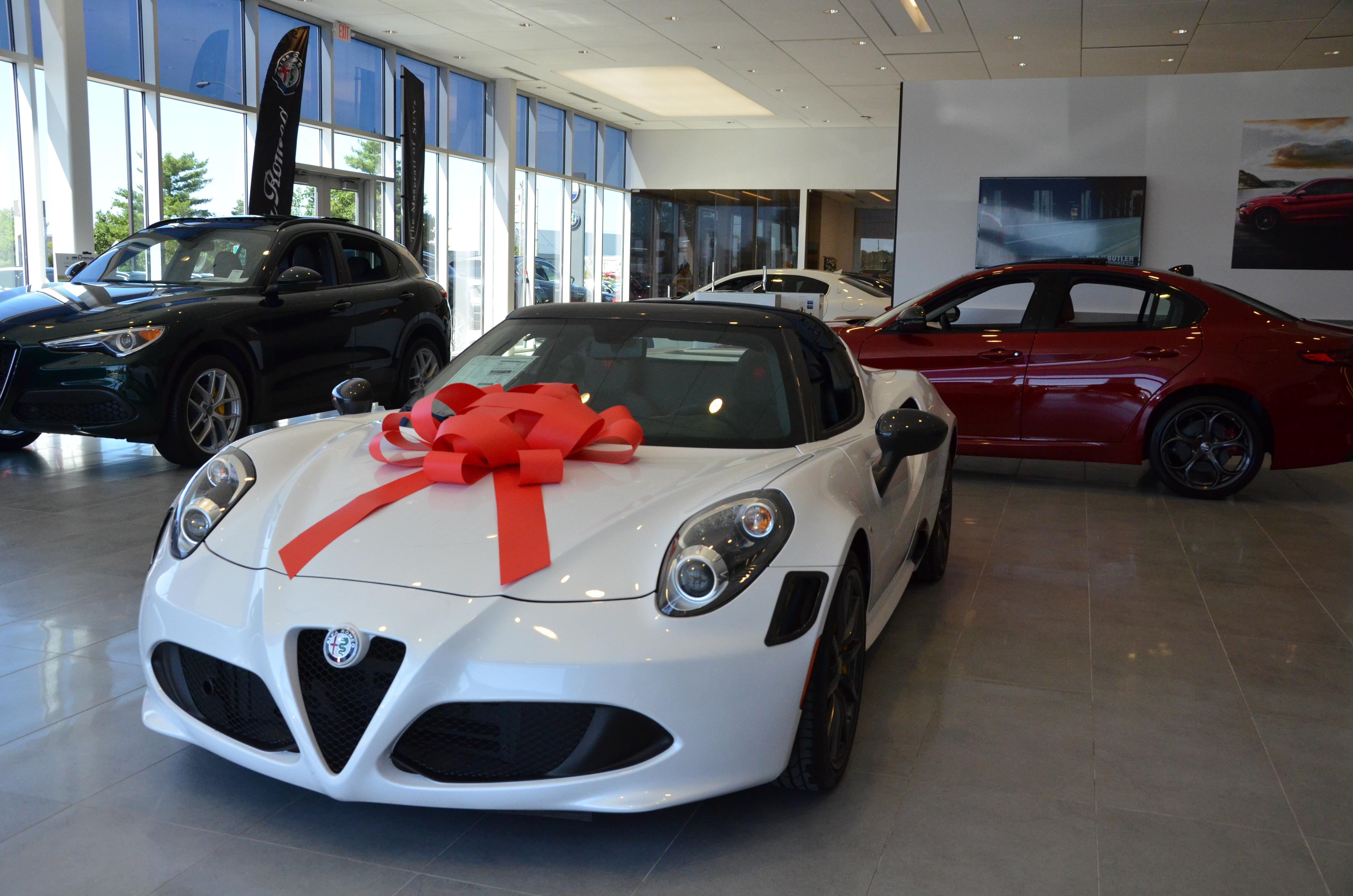 Jim Butler Alfa Romeo