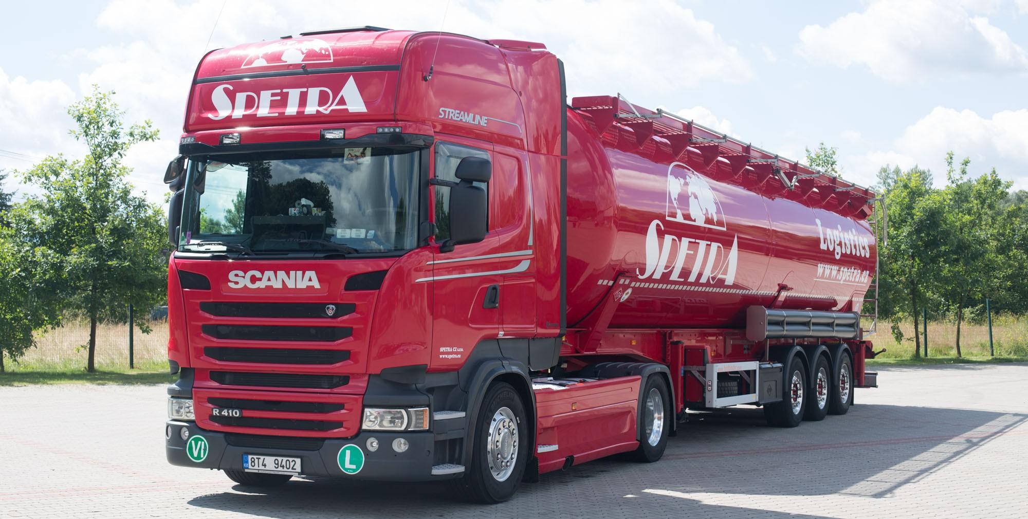 SPETRA CZ s.r.o. - Mezinárodní doprava a spedice