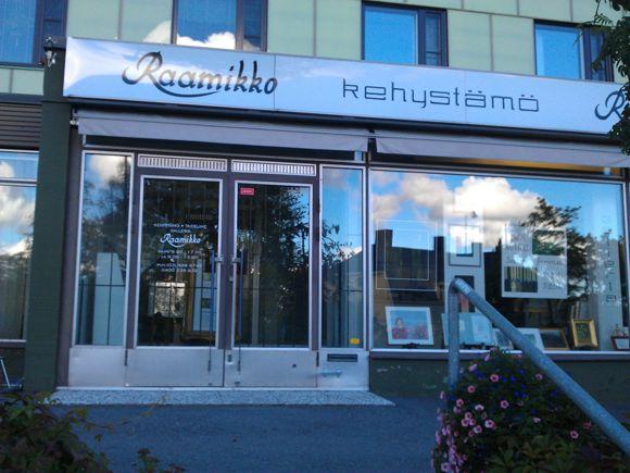 Kehystämö-Taideliike-Galleria Raamikko